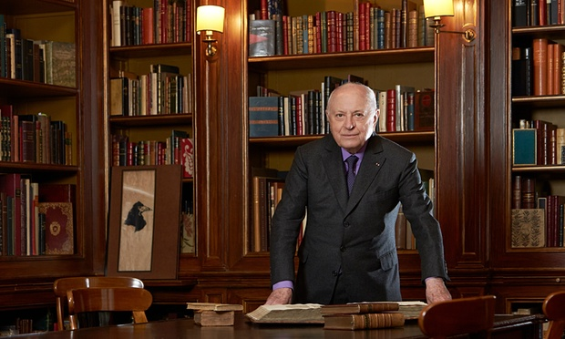 The Guardian – The £30m bookshelf: Pierre Bergé and the greatest stories ever sold